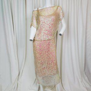 Rachel Comey Asti Sequined Sheath Dress
